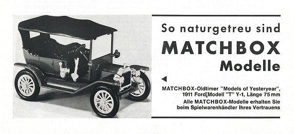 Christian Falkensteiner\'s Matchbox Ads from German Magazines